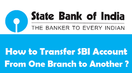 How to Transfer your Sbi Bank A/C One Branch to another Branch
