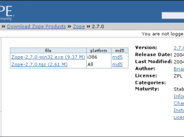 How to Installing and Configuring Server Zope and Plone